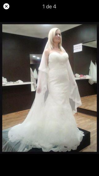 Vestido de novia de Rosa Clara.3 en 1