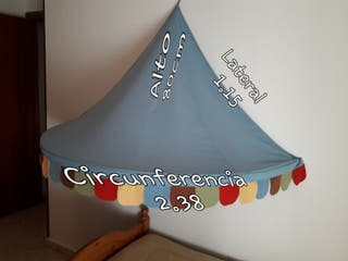 Carpa CIRCO decoración