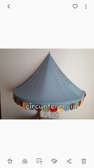 Carpa CIRCO decoración