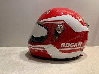Casco moto Ducati suomy
