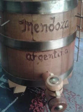 Barril Mendoza Argentina decoración y colección