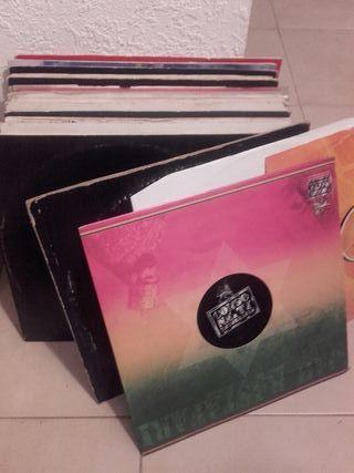 Colección 40 discos vinilo Drum & Bass