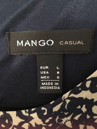 Vestido talla L Mango
