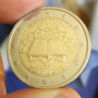 Moneda conmemorativa Portugal
