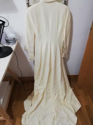 Vestido de Novia con Abrigo