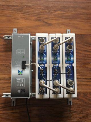 Amplificador tv monocanal ALCAD