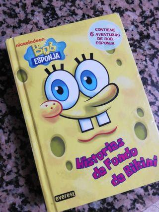 libro Bob esponja.