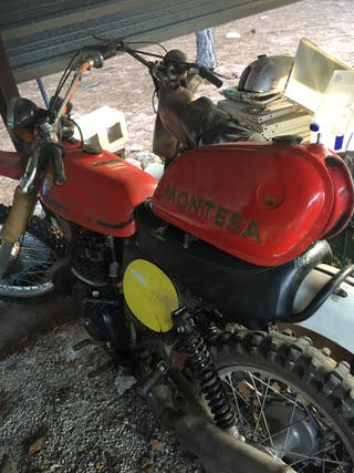 CHASIS DOCUMENTADO MONTESA ENDURO H6