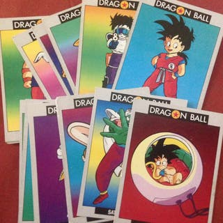 Dragon Ball colección cards ediciones Este