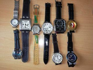lote de relojes variados unisex