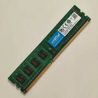 Memoria RAM Nueva 4GB DDR3L 1600 UDIMM 1.35V CL11