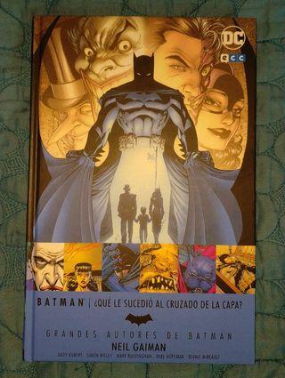 Grandes Autores Batman ¿Qué le sucedió al cruz...?
