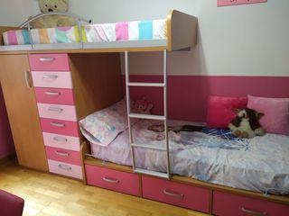 habitación litera infantil