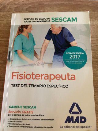 Libro SESCAM Fisioterapeuta