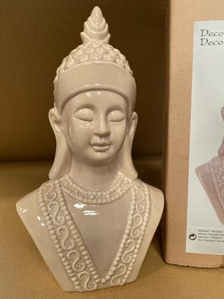 Figurará busto buda de cerámica