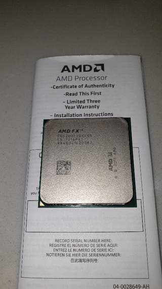 Procesador AMD FX 6200