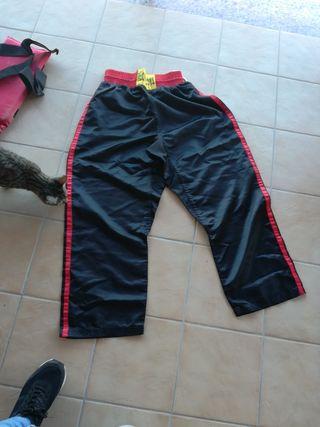 pantalon kickboxing