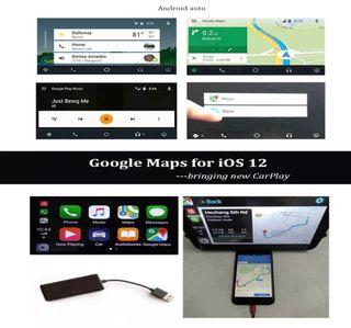Adaptador Apple CarPlay para Android y ce