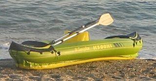 Piragua Canoa hinchable para dos personas