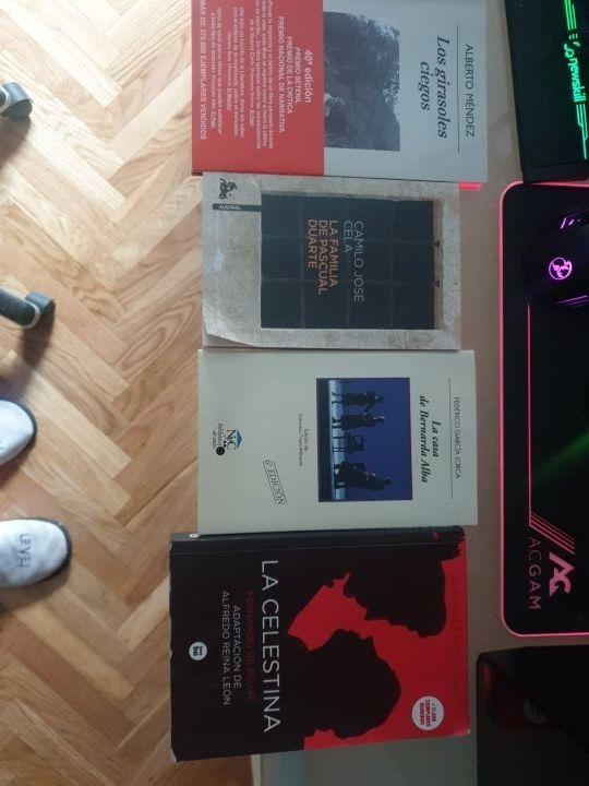 kit de libros de bachillerato