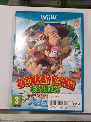Donkey Kong Country wii u
