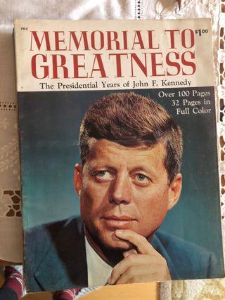 Revistas biograficas sobre John Kennedy