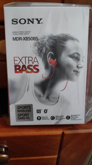 Auriculares Sony Extrabass