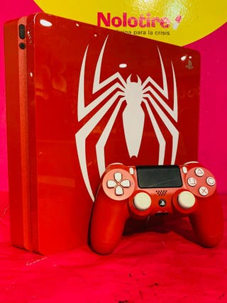 CONSOLA PS4 SLIM 1TB + MANDO ED. SPIDER-MAN