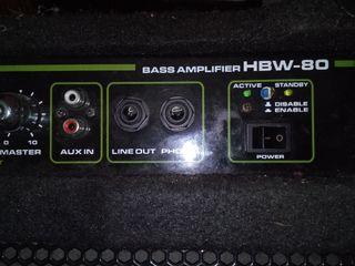 Amplificador Bass