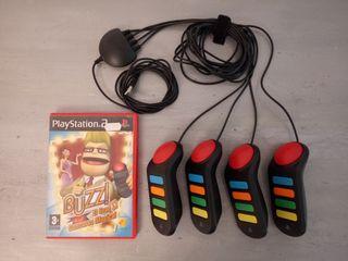 Mandos juego PlayStation 2 Buzz