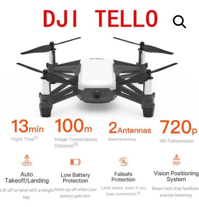 Dron Tello (powered by dji)