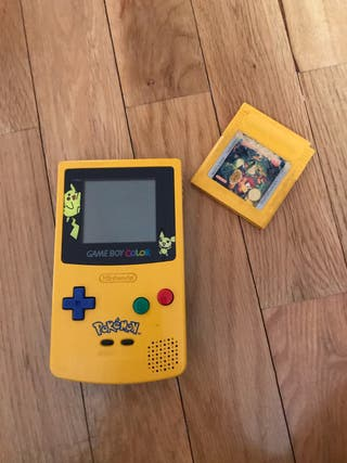 Gameboy Color Edición Pikachu