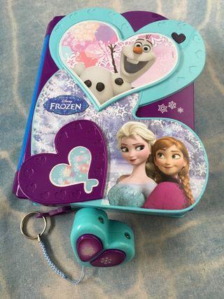 Diario secreto electrónico Frozen