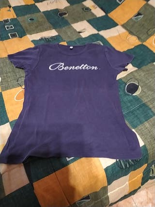 Camiseta niño/a talla 10 Benetton