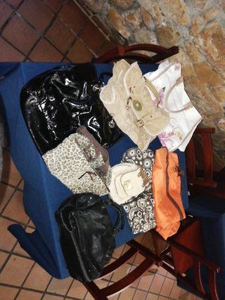 bolso de zara. de playa y mochila