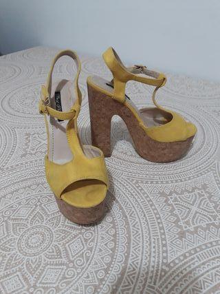 Zapatos plataforma Talla 36