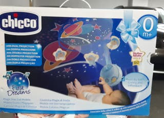 Proyector dual chicco para bebés
