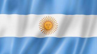 Bandera de Argentina de tela 150cm x 90cm