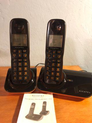 teléfono dúo inalámbrico
