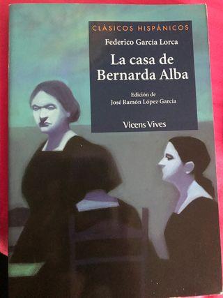 "Libro ""La casa de Bernarda Alba"""