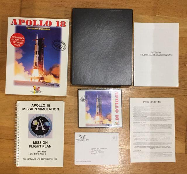 Apollo 18 - The moon missions - NASA. Juego PC