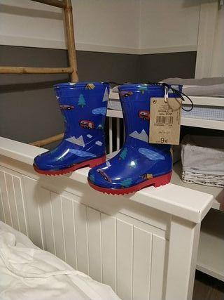 Botas de agua N.22