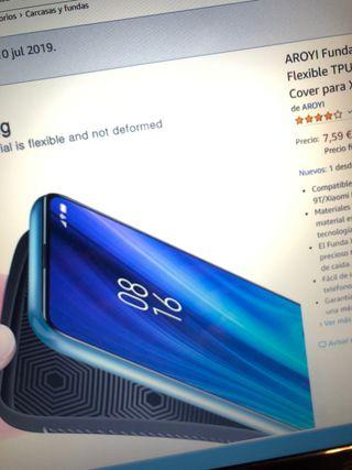 Funda Xiaomi Redmi K20 pro NUEVA