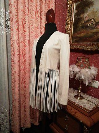 Cazadora chaqueta talla S polipiel americana