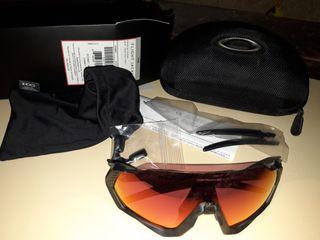 Oakley flight jacket cristal prizm