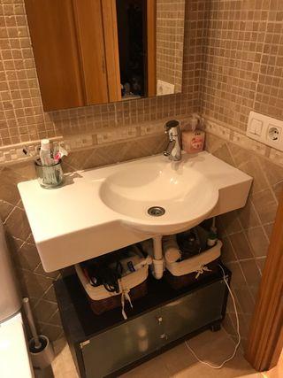 Conjunto mueble baño