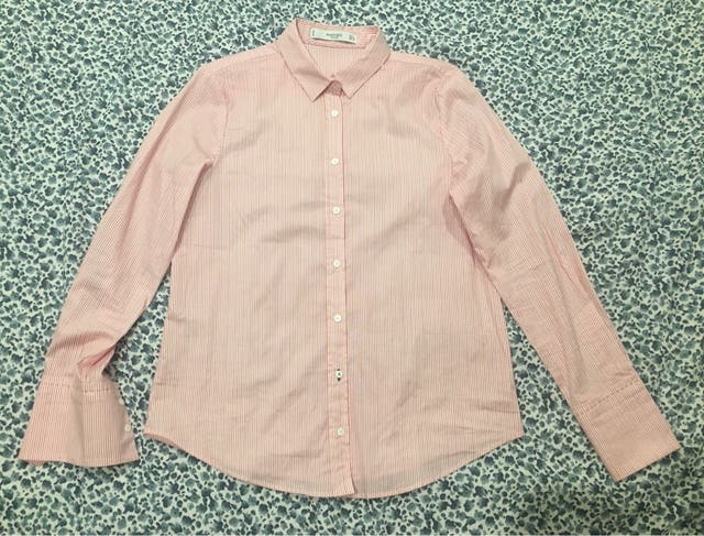 Camisa rayas Mango