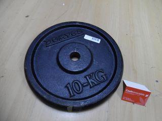 DISCO DE PESA 10 KG (113310)