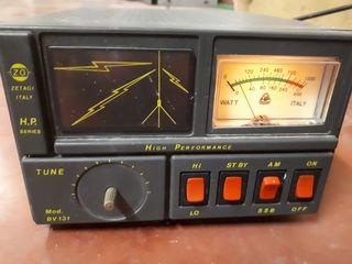 radioaficionados,zetagi bv 131 amplificador