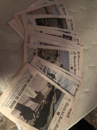 Diarios edición especial real madrid
